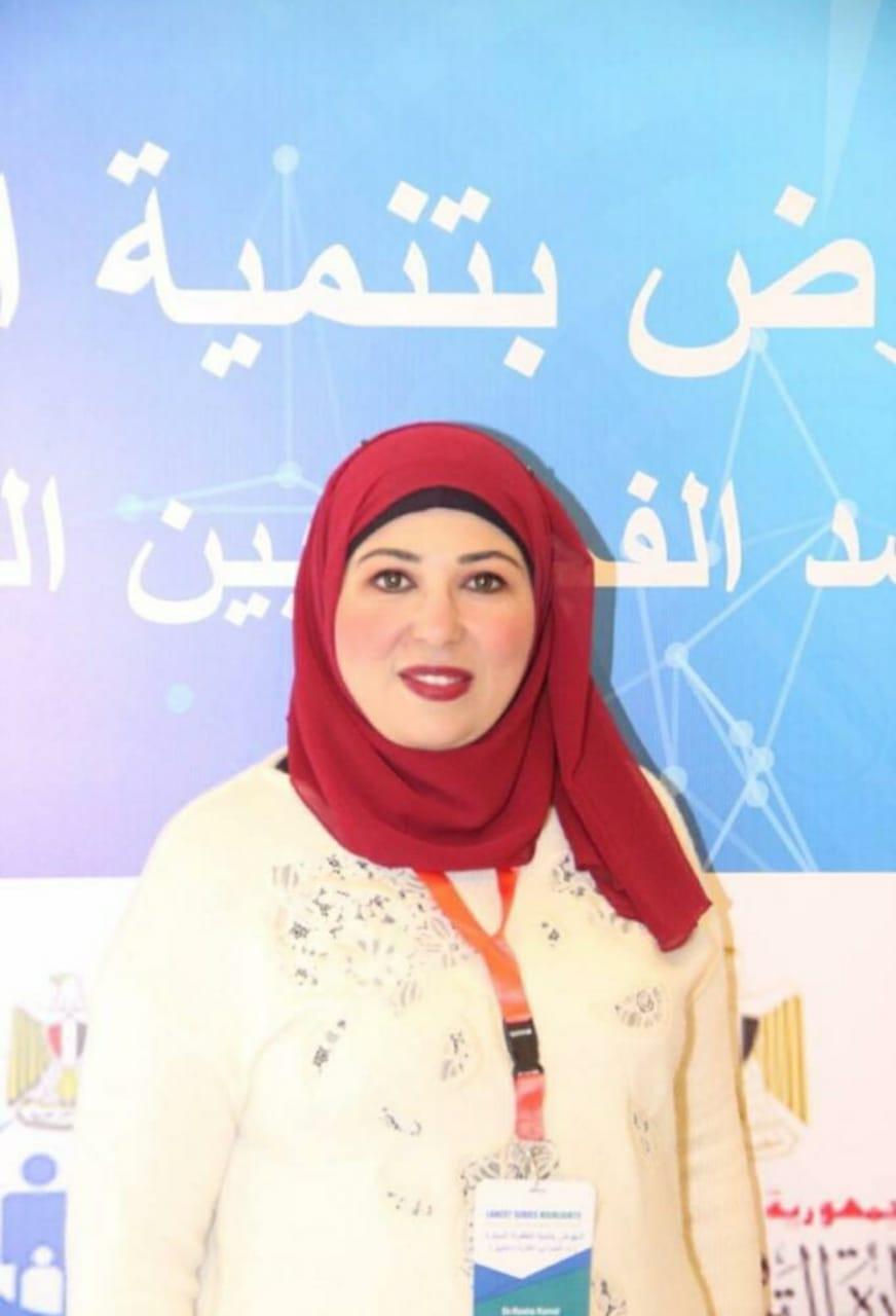 الدكتورة رشا كمال ملحقاً ثقافياً بالمكتب الثقافى المصرى بلندن