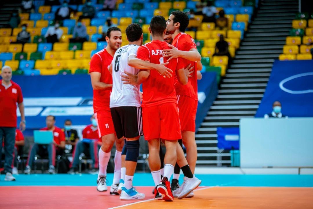 مصر تحصل على برونزية كأس الأمم للكرة الطائرة بالفوز على المغرب