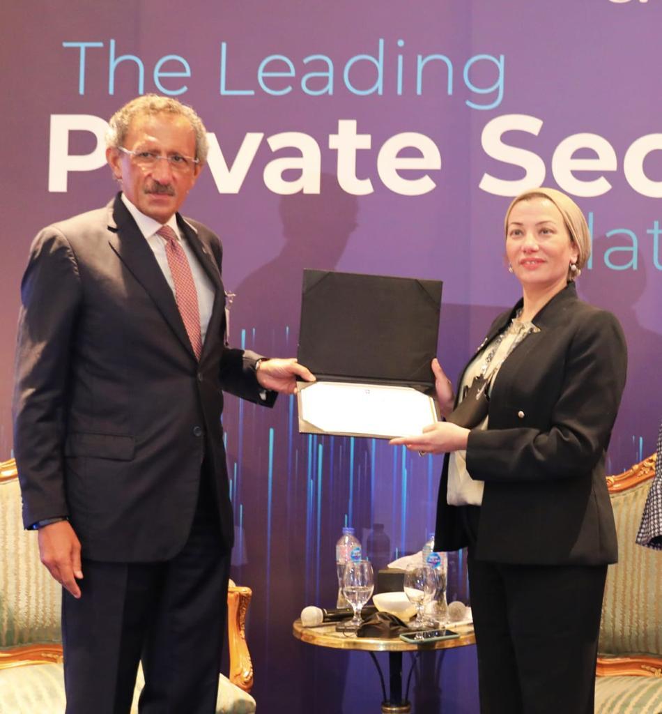 وزيرة البيئة تستعرض رؤية مصر لتحقيق النمو الأخضر بالشراكة مع القطاع الخاص وآليات خلق المناخ الداعم