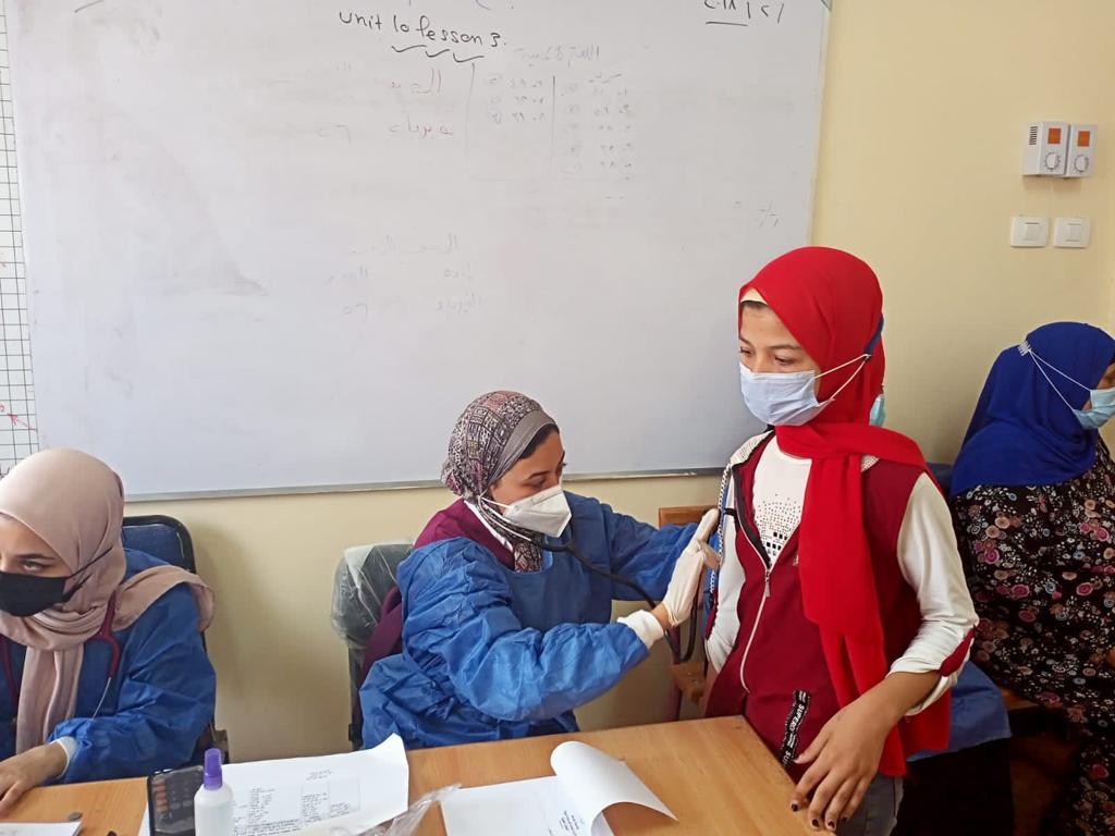 قوافل جامعة طنطا الطبية قدمت خدماتها العلاجية بالمجان لـ 1391 مواطنًا بالغربية