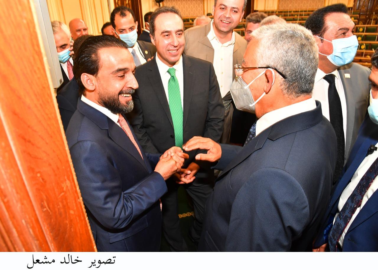 جبالي  يلتقي رئيس مجلس النواب العراقي