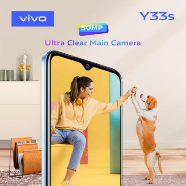 vivoمصر تقدم هاتفها الذكيY33s المعزز بكاميرا ثلاثيةبدقة50ميجابكسل وتجربة مستخدم استثنائية!