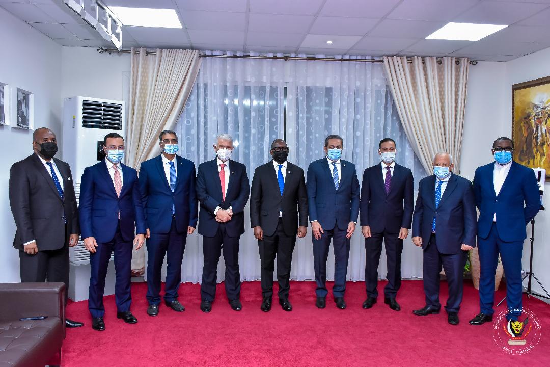 رئيس الوزراء الكونغولى يستقبل نائب وزير الإسكان ووفد شركة المقاولون العرب