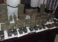 ضبط ثلاثة أشخاص بحوزتهم سلاح نارى ومواد مخدرة بالقاهرة