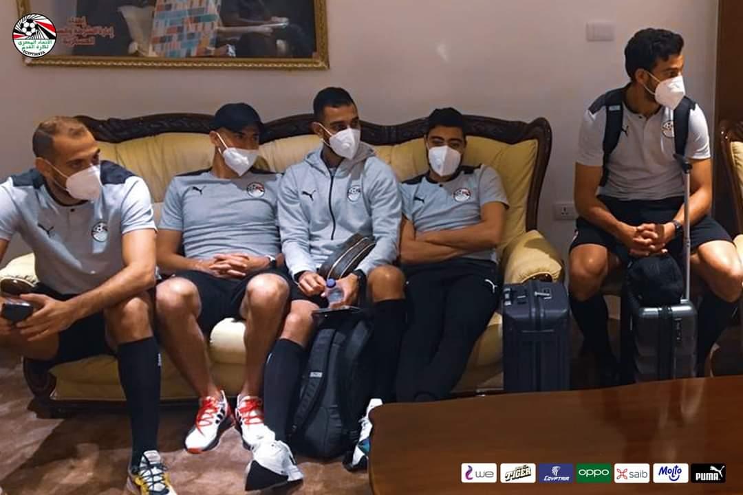 المنتخب الوطني يصل بنغازي استعدادا لمباراة ليبيا