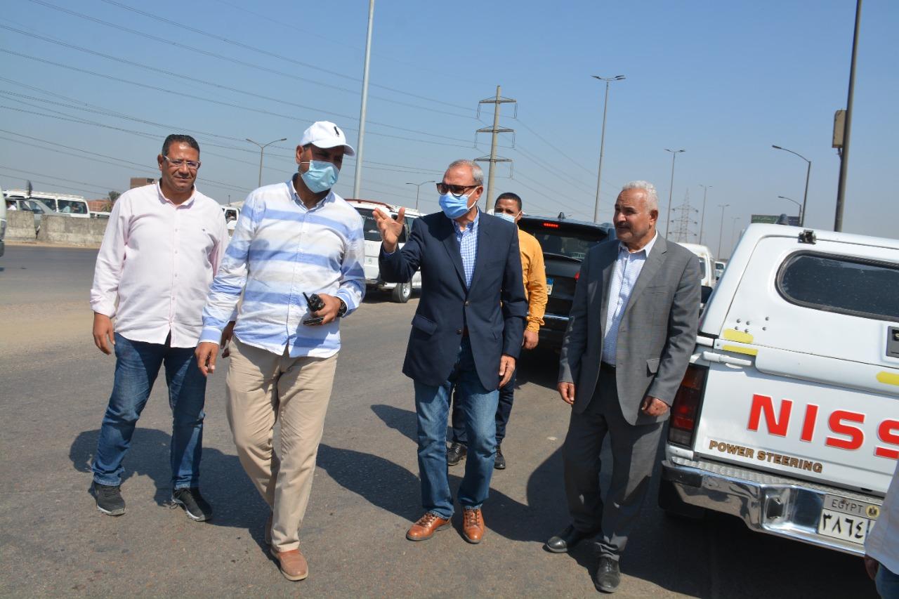 محافظ القليوبية يتابع إزالة المباني المتعارضة مع أعمال توسعة الطريق الدائري