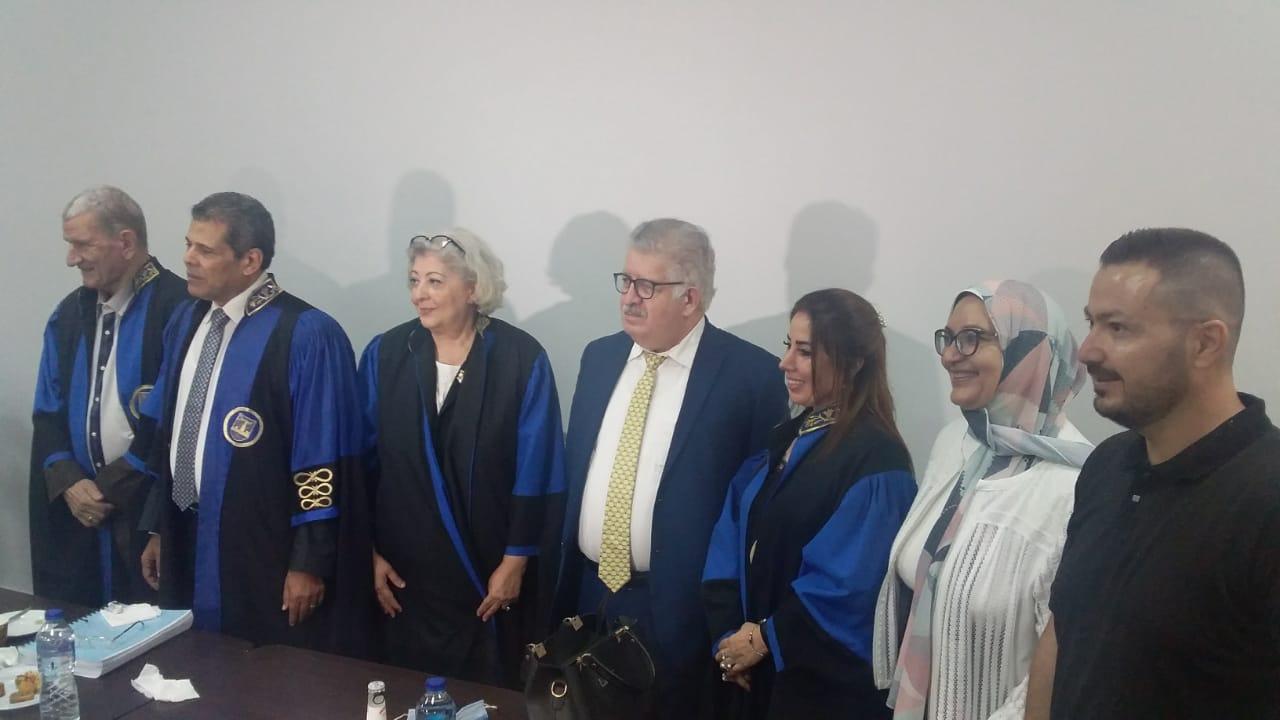 جامعة الإسكندرية تمنح باحثة كردية درجة الدكتوراه فى التربية حول تحسين أداء المرشدين
