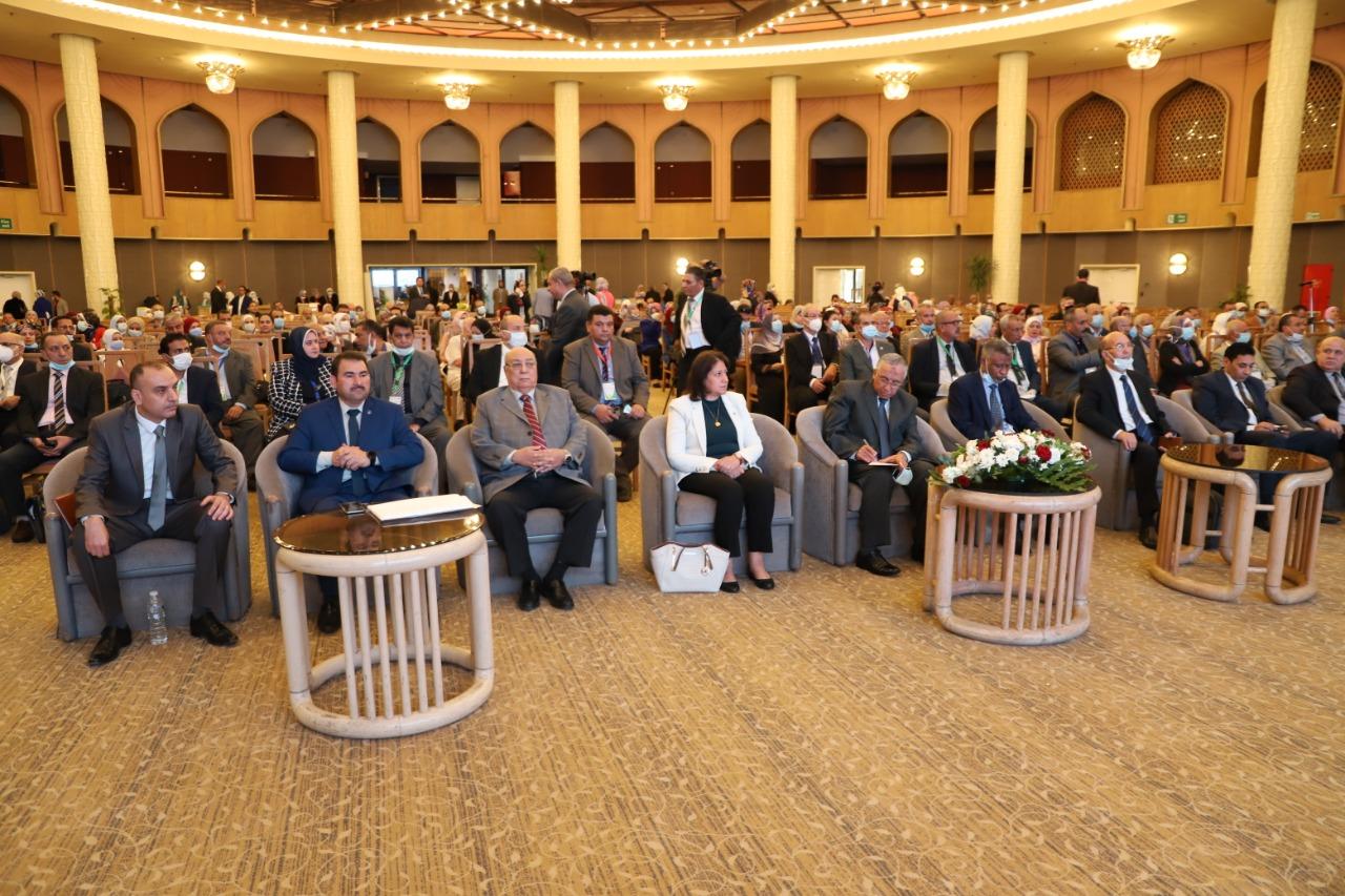 """رئيس مركز البحوث يفتتح فعاليات المؤتمر الدولى السادس تحت عنوان """"الآفاق المستقبلية لوقاية النباتات"""""""