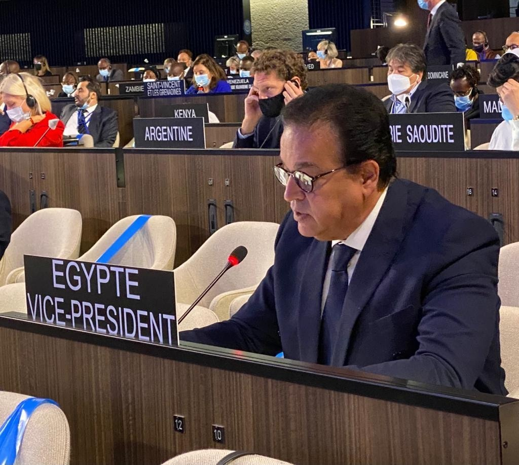 """وزير التعليم العالى يلقي كلمة مصر فى """"اليونسكو"""""""
