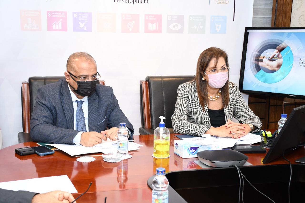 وزيرة التخطيط تبحث سبل التعاون في مجالات التنمية وتأهيل الكوادر مع وزير التخطيط اليمني