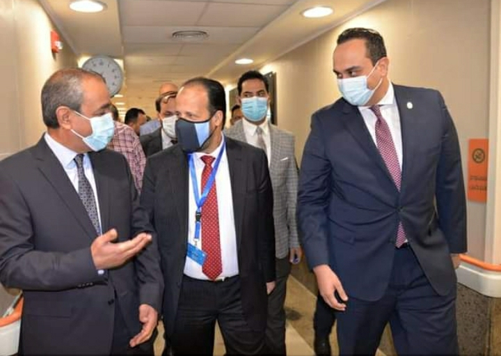 محافظ الإسماعيلية يستقبل وزير الصحة الليبي