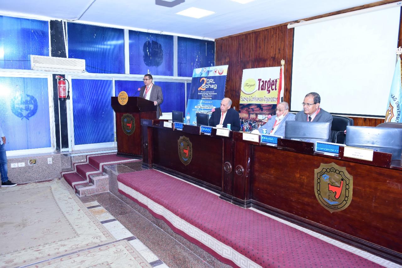 انطلاق فعاليات المؤتمر الثاني لقسم الأنف والأذن والحنجرة بجامعة سوهاج