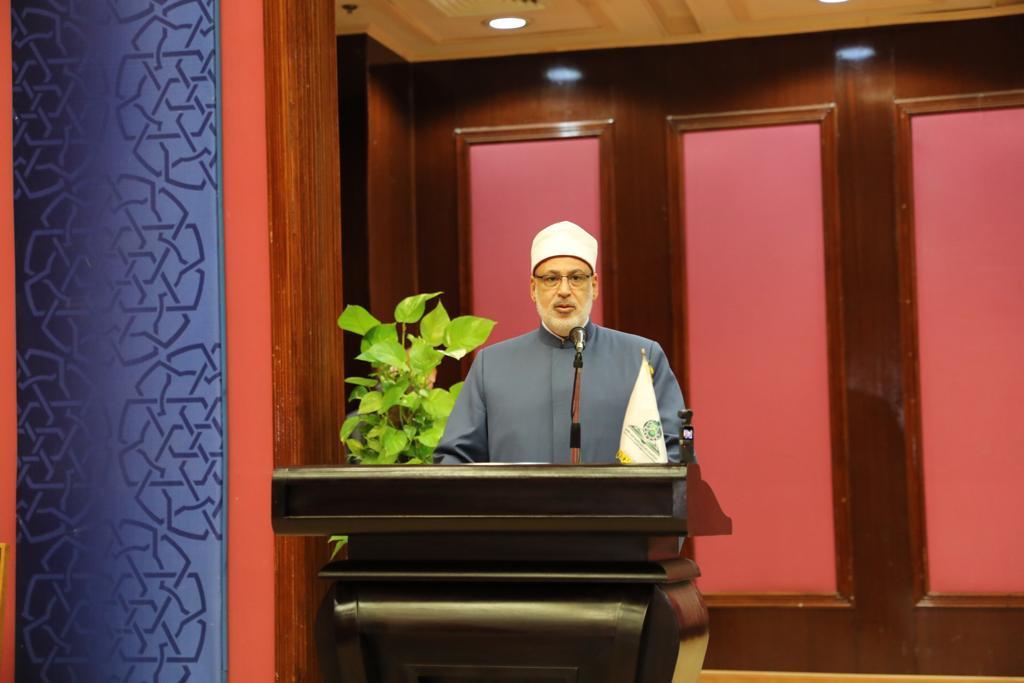 """خلال كلمته بمؤتمر كلية الدراسات الإسلامية """"الشباب في عيون التراث"""