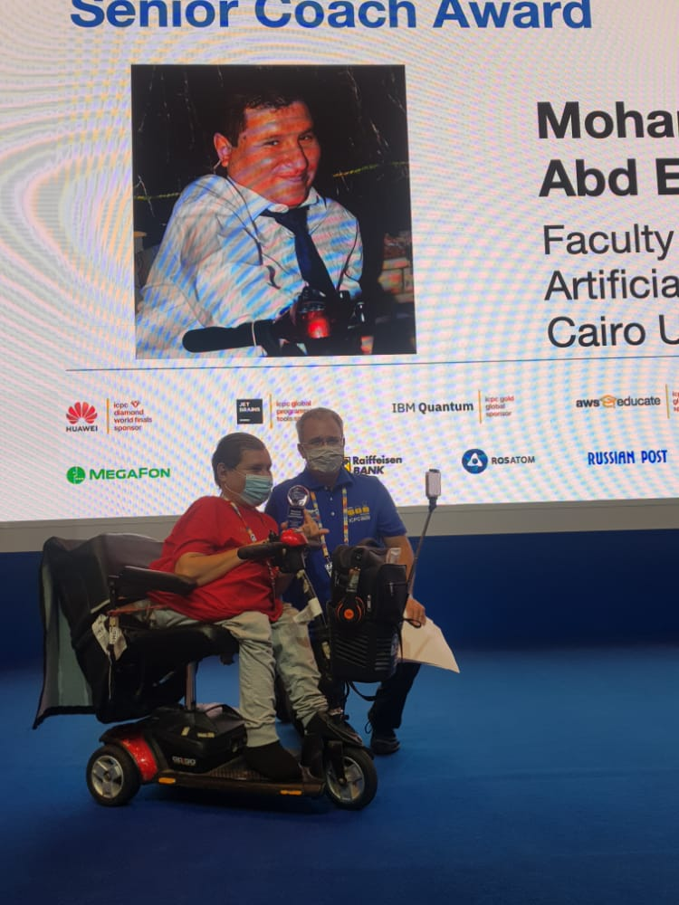 فوز مدرس مساعد بكلية حاسبات جامعة القاهرة بجائزة مسابقة البرمجة الجامعية الدولية