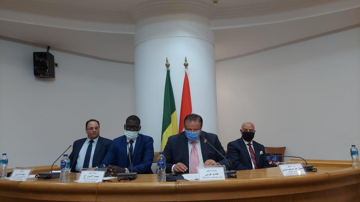 السفير محمد الأمين: منظمة نهر السنغال نموذج مثالي لإدارة نهر النيل