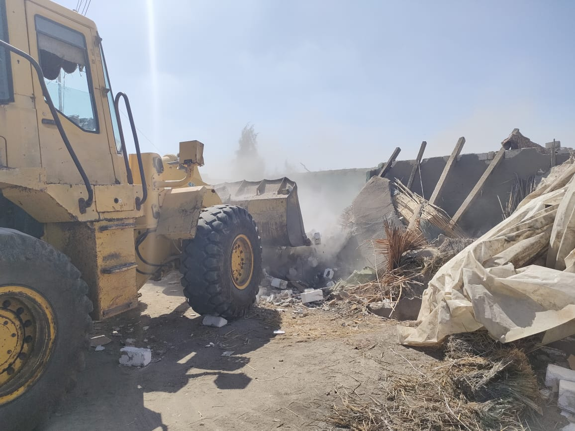 محافظ كفر الشيخ يعلن عن إزالة 18حالة خلال تنفيذ المرحلة الثانية من الموجة  18 ليرتفع ل51 حالة