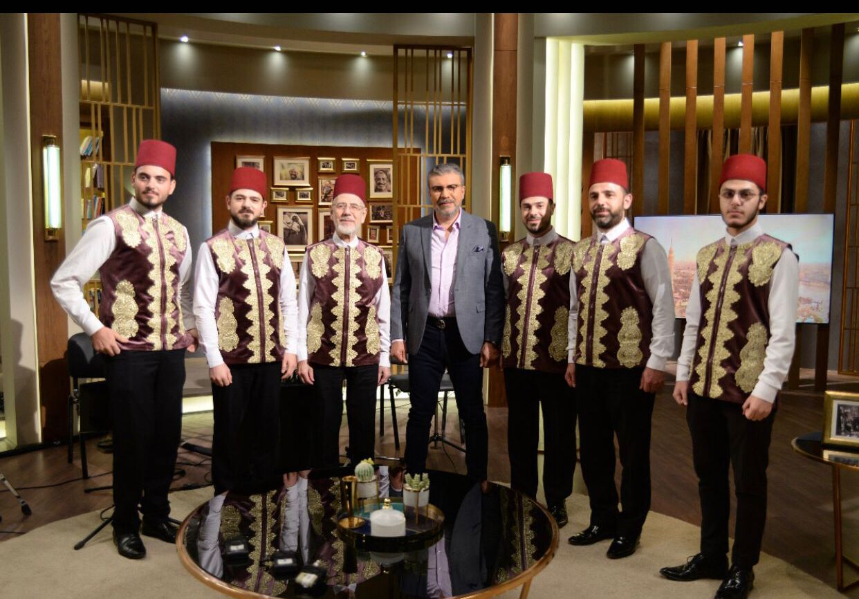الليلة رمضان عبد الرزاق وفرقة المرعشلي السورية في احتفالية المولد النبوي بواحد من الناس قناة الحياة