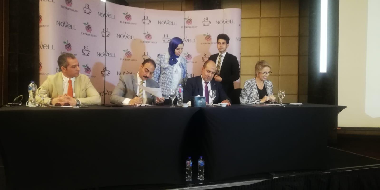 بداية للاستيراد والتصدير توقع عقد شراكة مع شركة نوفيل لتوزيع منتجات القهوة الإسبانية في مصر