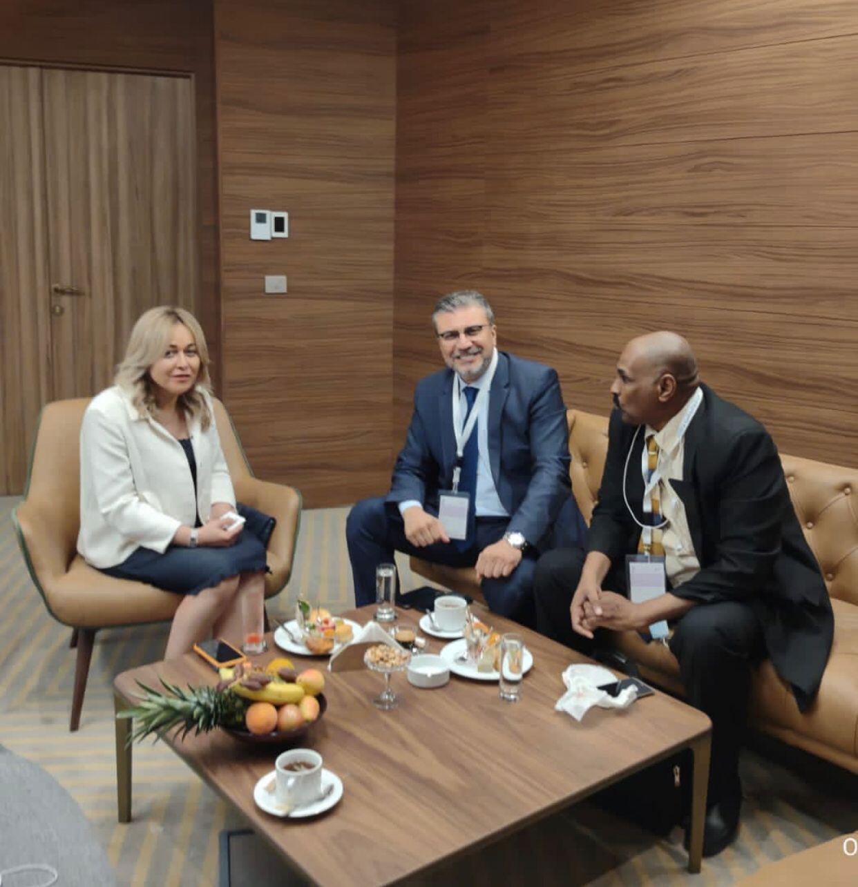رئيس اتحاد الإذاعات الإسلامية يلتقي برئيس التليفزيون التونسي