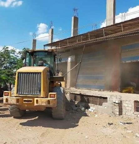 إزالة ١٢٢ حالة تعدي علي مساحة ٤ ألاف و٦٥٤ متر مباني و١١٤ فدان و٢١ قيراط بالشرقية