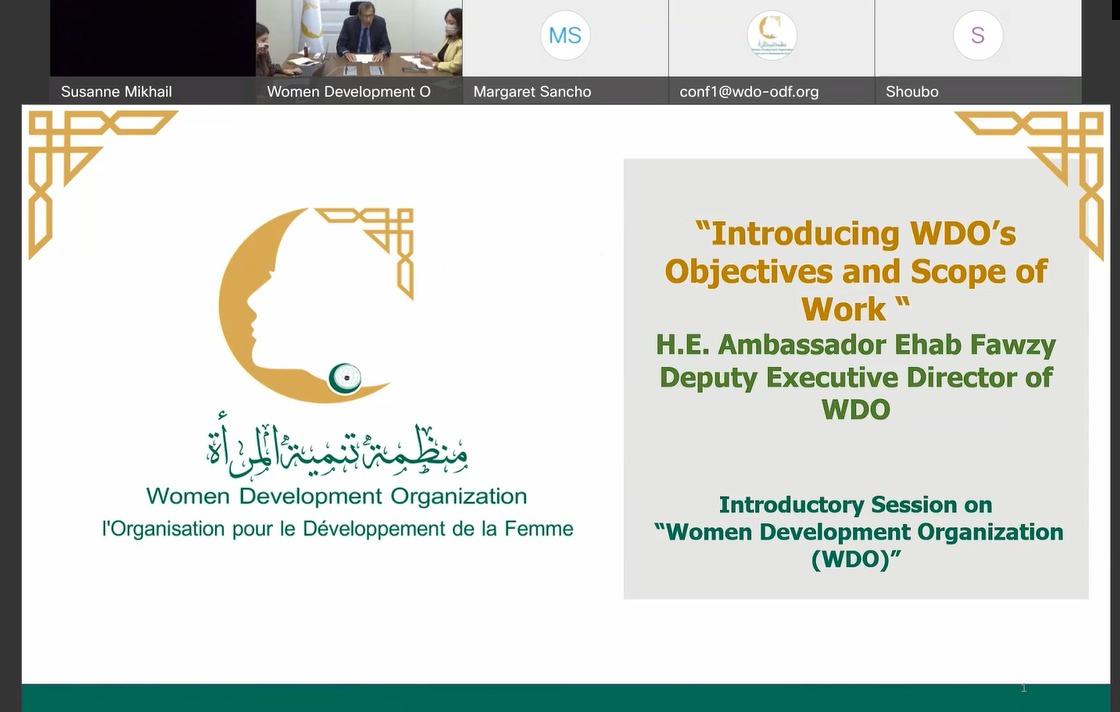 منظمة تنمية المرأة لدول التعاون الإسلامي تجتمع مع شركائها التنمويين بالقاهرة